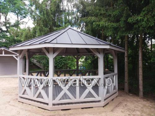 altana drewniana Kasandra