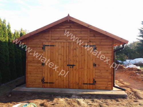 garaż drewniany G13