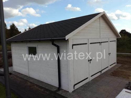 garaż drewniany G14 Double