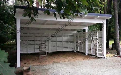 wiata garażowa Oregon